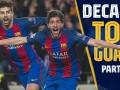 巴萨黄金十年最佳进球候选(下)罗贝托绝杀巴黎 梅西献犯罪进球