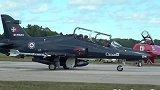 """战机欣赏 加拿大CT-155型""""鹰""""式教练机 飞行表演超帅气"""