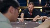 德州扑克 华人小伙悲剧的一把牌 主播现场爆粗口了