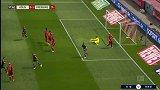 第18分钟弗赖堡球员彼得森进球 科隆0-1弗赖堡