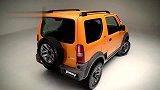"""三菱""""吉姆尼""""车长3.9米,非承载车身带四驱,比熊猫还少"""