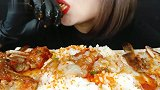 【BK】辣生蟹+飞鱼籽鸡蛋拌饭