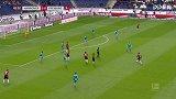 第42分钟汉诺威96球员贝布射门