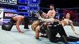 WWE-18年-混合双打挑战赛第一周:巴洛尔&班克斯VS中邑真辅&娜塔莉亚-单场