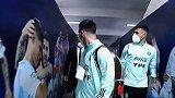 阿根廷国家队抵达球场!梅西通过冠军走廊 美洲杯记忆太美好