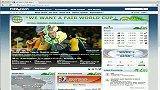 足球-13年-FIFA2014世界杯的官网被黑布拉特变成舞娘热舞-花絮
