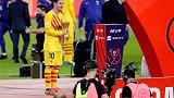 实至名归!梅西当选决赛MVP:2球制霸+怒夺国王杯第7冠