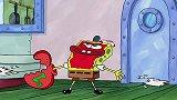 海绵宝宝第10季:章鱼哥也很会拍马屁,把蟹老板拍的舒舒服服的