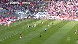 第57分钟汉诺威96球员贝布射门