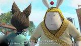 兔侠传奇:兔二被围攻,终于展示出武功,一个个都被打趴