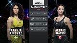 UFC263副赛:潘妮-基安萨德VS亚利克西斯-戴维斯