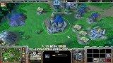 【大帝解说】魔兽争霸3 大帝HUM vs QQ直播 小刺猬 地精二合一 RUSH和被RUSH