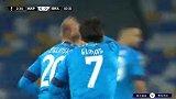 第3分钟那不勒斯球员杰林斯基进球 那不勒斯1-0格拉纳达