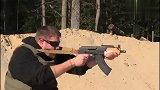微型AK-47突击步枪实弹射击测试,它的威力不容忽视!