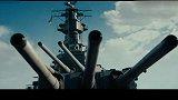 海面上超级战舰极速漂移,大口径炮弹疯狂轰炸!精彩!