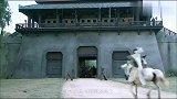新三国演义:吕布辕门射戟,一箭穿云百步,解除刘备与袁术的战争
