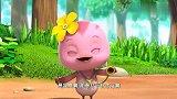 萌鸡小队:瓢虫给植物治病,朵朵也来帮忙,做森林医生!