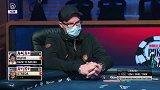 德州扑克:AK全下求翻倍 只可惜撞上了最强牌AA!