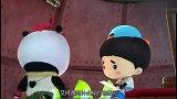 爸爸去哪:在熊猫兄弟的带领下,大家前往童话乐园,一起去救大家