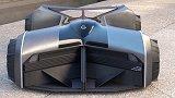 日产设计未来版GTR,造型独特驾驶员要趴车内,这要怎么开?