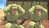 聪明的顺溜:顺溜和队友们抓到敌人,用食物引诱敌人,来获取情报