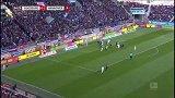 第65分钟奥格斯堡球员塞尔吉奥·科尔多瓦进球 奥格斯堡1-1汉诺威96