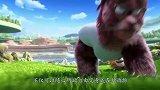 《熊出没·狂野大陆》熊强组合与神秘角色联手迎战变异怪兽