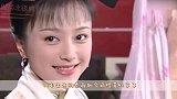 秦岚依旧女神,大背头复古精致妆容,一身绸缎面裙子超级撩!