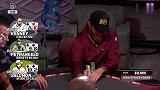 德州扑克:人狠话不多 AK顶对反打抓诈唬!