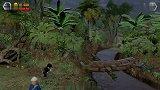 "【DK闻闻】《乐高侏罗纪世界》第三十八集:补完计划P15!""欢迎来到侏罗纪公园""迷你装置解锁!骷髅小三角龙!骷髅似鸡龙试玩!"