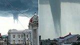"""古巴:出现诡异龙卷风,场面像""""外星人入侵"""""""
