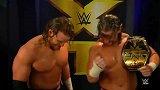 WWE-15年-NXT第258期:赛后采访 巴迪和韦斯利赢双龙亢奋至极-花絮