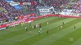 第58分钟汉诺威96球员佐尔格射门