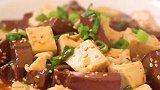豆腐搭配鸭血怎么做?大厨教你一个简单的做法,好看又美味