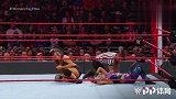 RAW:暴动小队战神娜塔莉亚和戴娜 晋级下月的铁笼密室淘汰赛