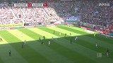 第14分钟汉诺威96球员普里布射门