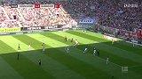 第19分钟汉诺威96球员安东射门