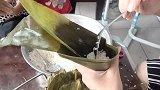 端午节:北方农家怎样包粽子,一家人其乐融融,闻着好香