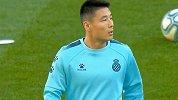 期待吗!武磊赛前热身状态轻松 伯纳乌首迎中国球员