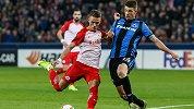 欧联-达卡梅开二度施拉格尔世界波 萨尔茨堡4-0完胜布鲁日