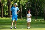 刘国梁女儿化身小记者采访王仕鹏:也是爸爸教的高尔夫吗?