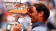 垄断双历史第1!纳达尔大师赛34冠+379胜 力压小德费德勒创纪录