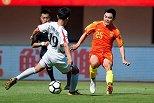友谊赛-黄紫昌独造5球唐诗双响 U23国足6-2朝鲜U23